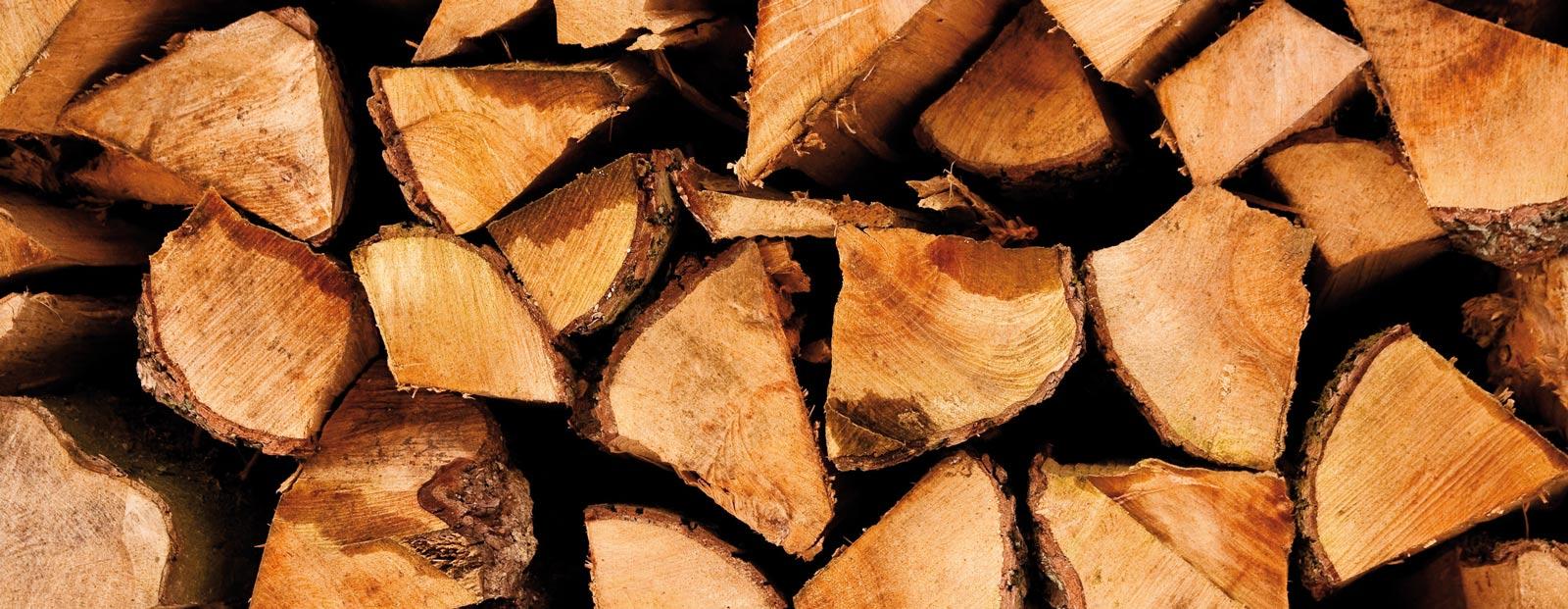 Heizen mit Holz / Pellets